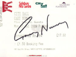 Salisbury Ticket 2009
